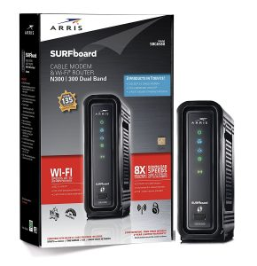 ARRIS SURFboard SBG6580-2 DOCSIS 3.0 Cable Modem/ Wi-Fi N600