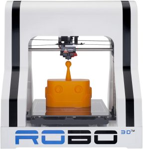 ROBO 3D R1 Plus 10x9x8-Inch ABS/PLA 3D Printer
