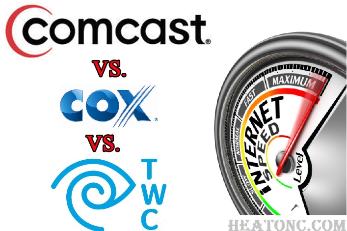 Comcast Versus Cox Versus Time Warner