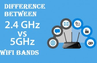 What is the difference between 2.4 GHz and 5 GHz WiFi Bands?